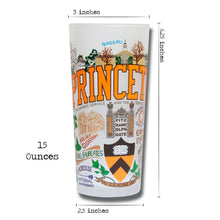 Load image into Gallery viewer, Princeton University Collegiate Drinking Glass - catstudio