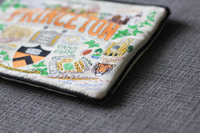 Load image into Gallery viewer, Princeton University Collegiate Zip Pouch - catstudio