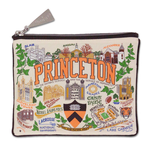 Princeton University Collegiate Zip Pouch - catstudio