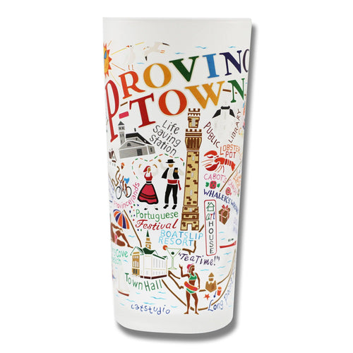 Provincetown Drinking Glass - catstudio