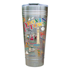 Load image into Gallery viewer, Provincetown Thermal Tumbler (Set of 4) - PREORDER Thermal Tumbler catstudio