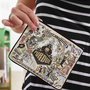 Purdue University Collegiate Zip Pouch - catstudio