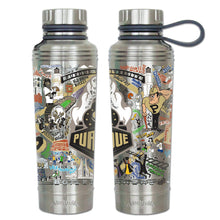 Load image into Gallery viewer, Purdue University Collegiate Thermal Bottle - catstudio