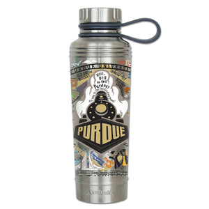 Purdue University Collegiate Thermal Bottle - catstudio