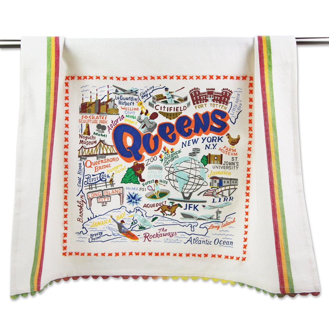 Queens Dish Towel - catstudio
