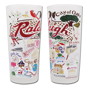 Raleigh Drinking Glass - catstudio