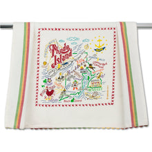 Load image into Gallery viewer, Rhode Island Dish Towel - catstudio