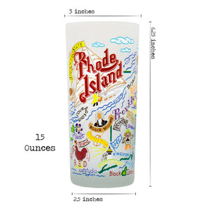 Rhode Island Drinking Glass - catstudio