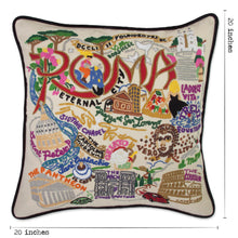 Load image into Gallery viewer, Roma Hand-Embroidered Pillow - catstudio