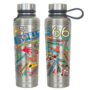 Route 66 Thermal Bottle Thermal Bottle catstudio