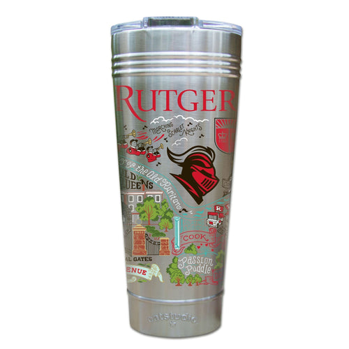Rutgers University Collegiate Thermal Tumbler (Set of 4) - PREORDER Thermal Tumbler catstudio