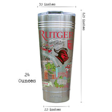 Load image into Gallery viewer, Rutgers University Collegiate Thermal Tumbler (Set of 4) - PREORDER Thermal Tumbler catstudio