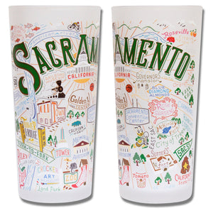Sacramento Drinking Glass - catstudio