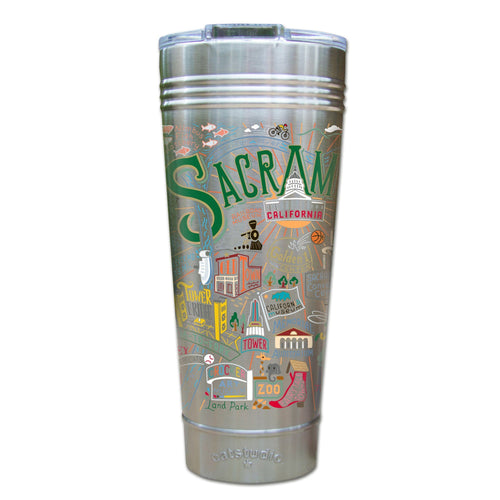 Sacramento Thermal Tumbler (Set of 4) - PREORDER Thermal Tumbler catstudio