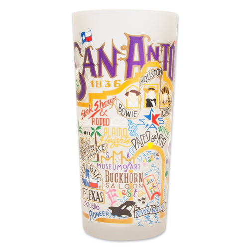San Antonio Drinking Glass - catstudio