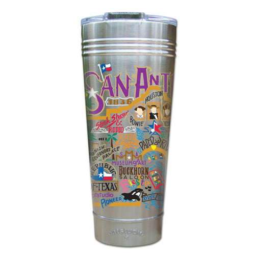 San Antonio Thermal Tumbler (Set of 4) - PREORDER Thermal Tumbler catstudio