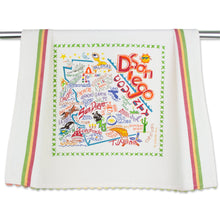 Load image into Gallery viewer, San Diego Dish Towel - catstudio