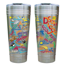 Load image into Gallery viewer, San Diego Thermal Tumbler (Set of 4) - PREORDER Thermal Tumbler catstudio