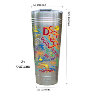 San Diego Thermal Tumbler (Set of 4) - PREORDER Thermal Tumbler catstudio