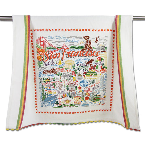 San Francisco Dish Towel - catstudio