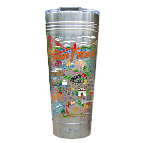 San Francisco Thermal Tumbler (Set of 4) - PREORDER Thermal Tumbler catstudio