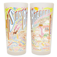 Load image into Gallery viewer, Santa Barbara Drinking Glass - catstudio