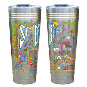 Santa Barbara Thermal Tumbler (Set of 4) - PREORDER Thermal Tumbler catstudio