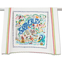 Load image into Gallery viewer, Santa Cruz Dish Towel - catstudio