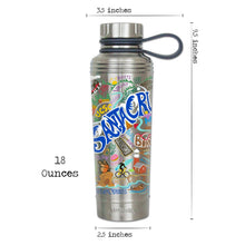 Load image into Gallery viewer, Santa Cruz Thermal Bottle - catstudio