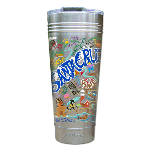 Santa Cruz Thermal Tumbler (Set of 4) - PREORDER Thermal Tumbler catstudio