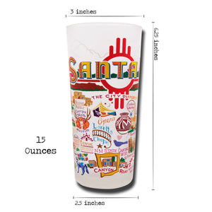 Santa Fe Drinking Glass - catstudio