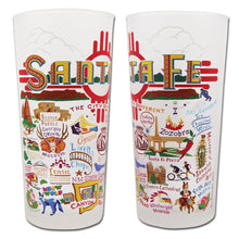 Load image into Gallery viewer, Santa Fe Drinking Glass Glass catstudio