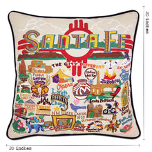 Load image into Gallery viewer, Santa Fe Hand-Embroidered Pillow Pillow catstudio