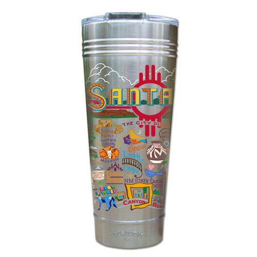 Santa Fe Thermal Tumbler (Set of 4) - PREORDER Thermal Tumbler catstudio