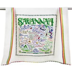 Savannah Dish Towel - catstudio