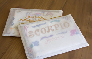 Scorpio Astrology Dish Towel Dish Towel catstudio
