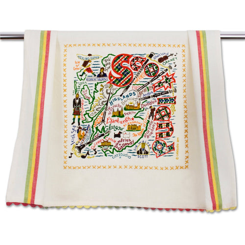 Scotland Dish Towel - catstudio