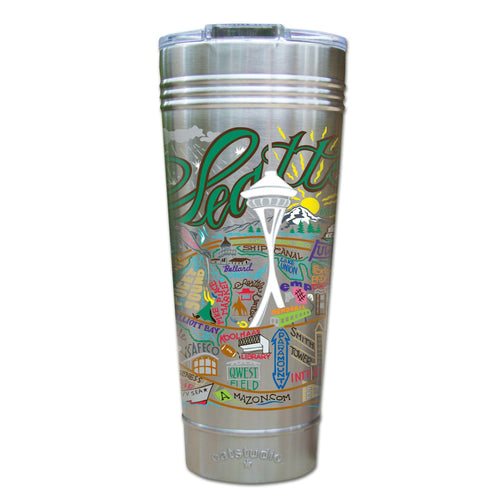 Seattle Thermal Tumbler (Set of 4) - PREORDER Thermal Tumbler catstudio