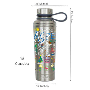 Ski Aspen Thermal Bottle - catstudio