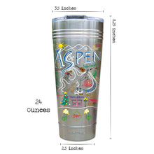Load image into Gallery viewer, Ski Aspen Thermal Tumbler (Set of 4) - PREORDER Thermal Tumbler catstudio
