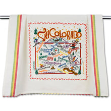 Load image into Gallery viewer, Ski Colorado Dish Towel Dish Towel catstudio