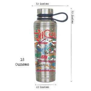 Ski Colorado Thermal Bottle - catstudio