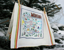 Load image into Gallery viewer, Ski Montana Dish Towel - catstudio