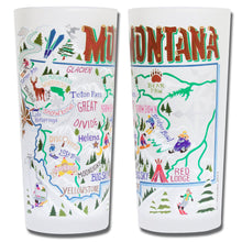Load image into Gallery viewer, Ski Montana Drinking Glass - catstudio