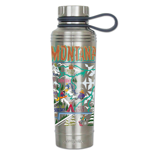 Ski Montana Thermal Bottle Thermal Bottle catstudio
