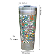 Load image into Gallery viewer, Ski Montana Thermal Tumbler (Set of 4) - PREORDER Thermal Tumbler catstudio