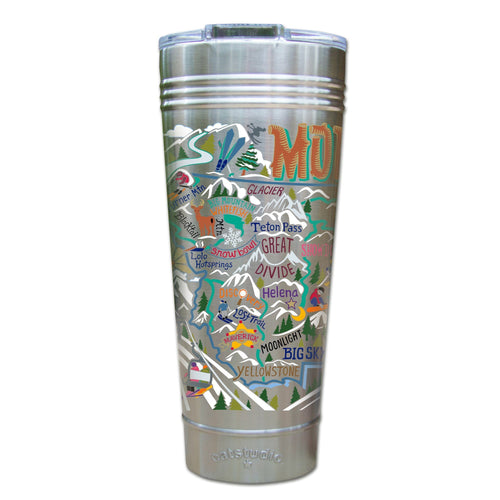 Ski Montana Thermal Tumbler (Set of 4) - PREORDER Thermal Tumbler catstudio