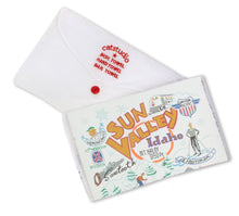 Load image into Gallery viewer, Ski Sun Valley Dish Towel - catstudio