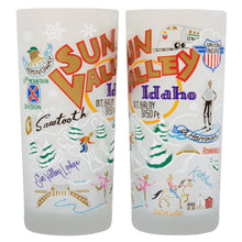 Load image into Gallery viewer, Ski Sun Valley Drinking Glass - catstudio