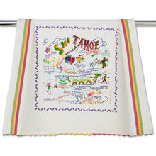 Load image into Gallery viewer, Ski Tahoe Dish Towel - catstudio